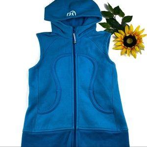 Lululemon Scuba Hooded Fleece Cotton Vest